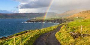 The rarer kind of Irish weather