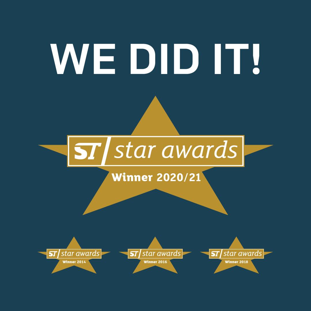 ISI Dublin - Winner ST Award 2020/21