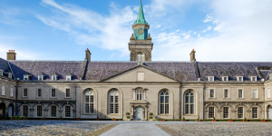 The courtyard at IMMA